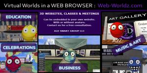 Yvonne DeBandi, Evie Marie, SingerGirl - 3D Web Innovator - Walk In Websites